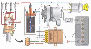 Бесконтактно транзисторная система зажигания