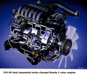 Роторный ДВС на Mazda 3