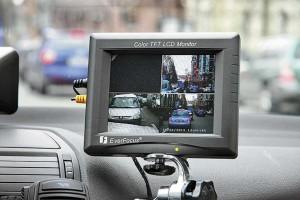 Монитор фиксации работы видеокамер