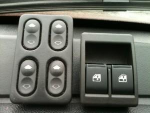 Разновидности кнопок электростеклоподъемников