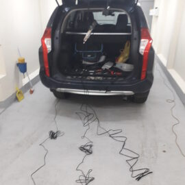 Установка электропривода багажника Mitsubishi Pajero Sport new