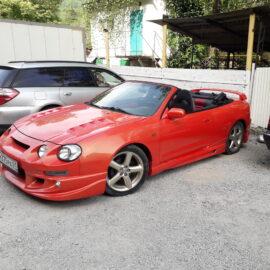 Тюнинг и ремонт Toyota Celica 1999 кабриолет (с видео)